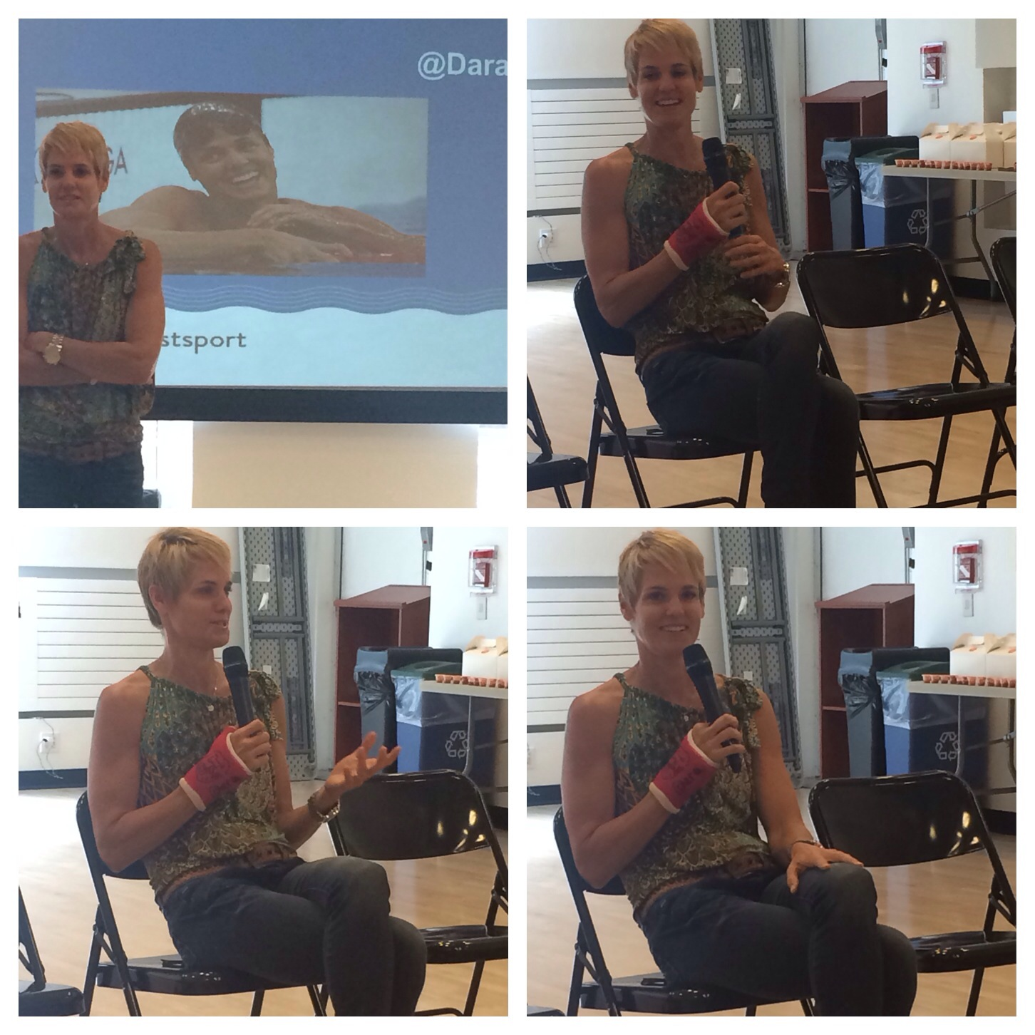 Olympic Swimmer Dara Torres & Swim Today On Why Swimming Is The #FunnestSport