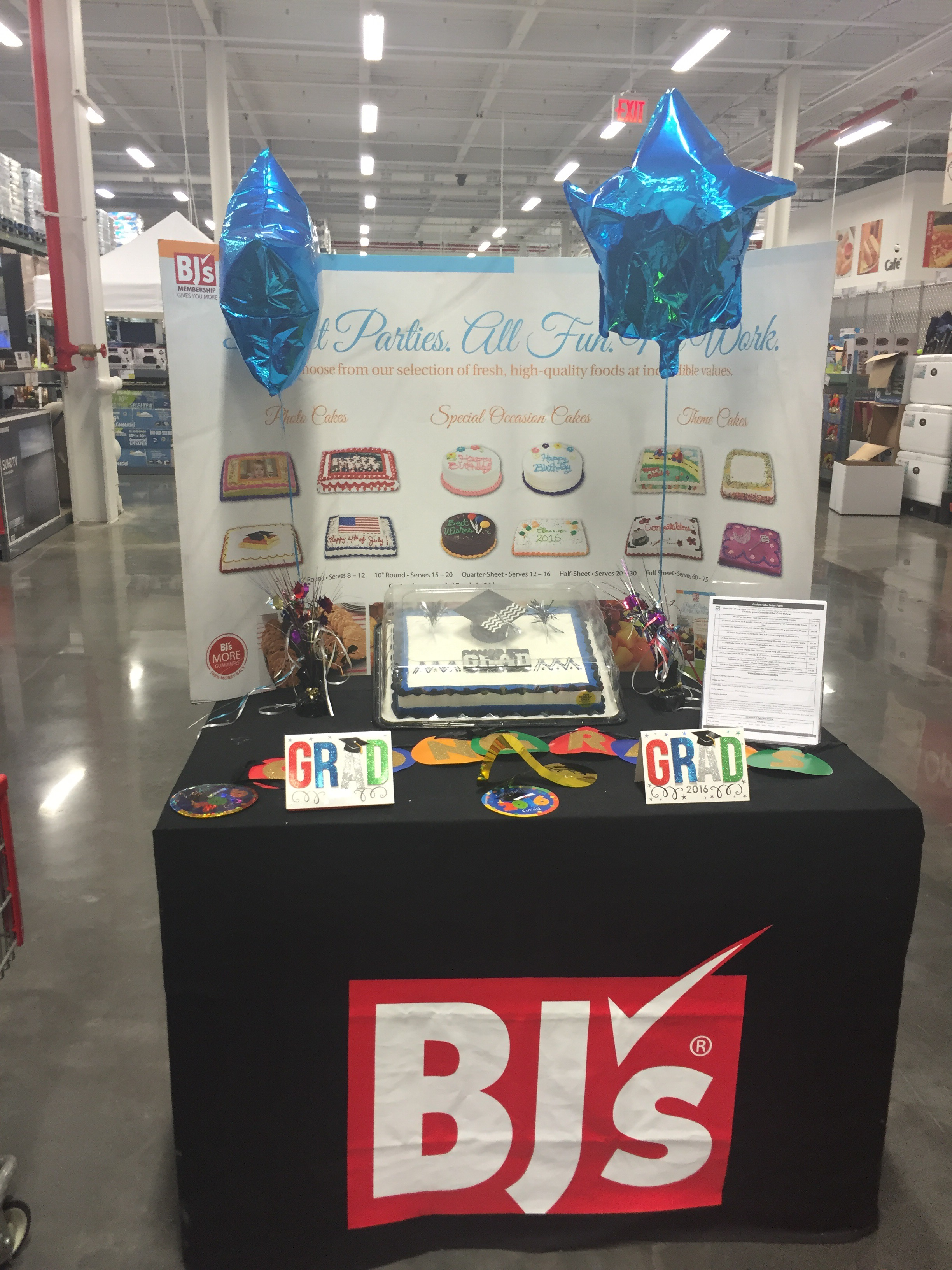 Easy Party Planning With BJs Wholesale Club ShopTheClub ad Five