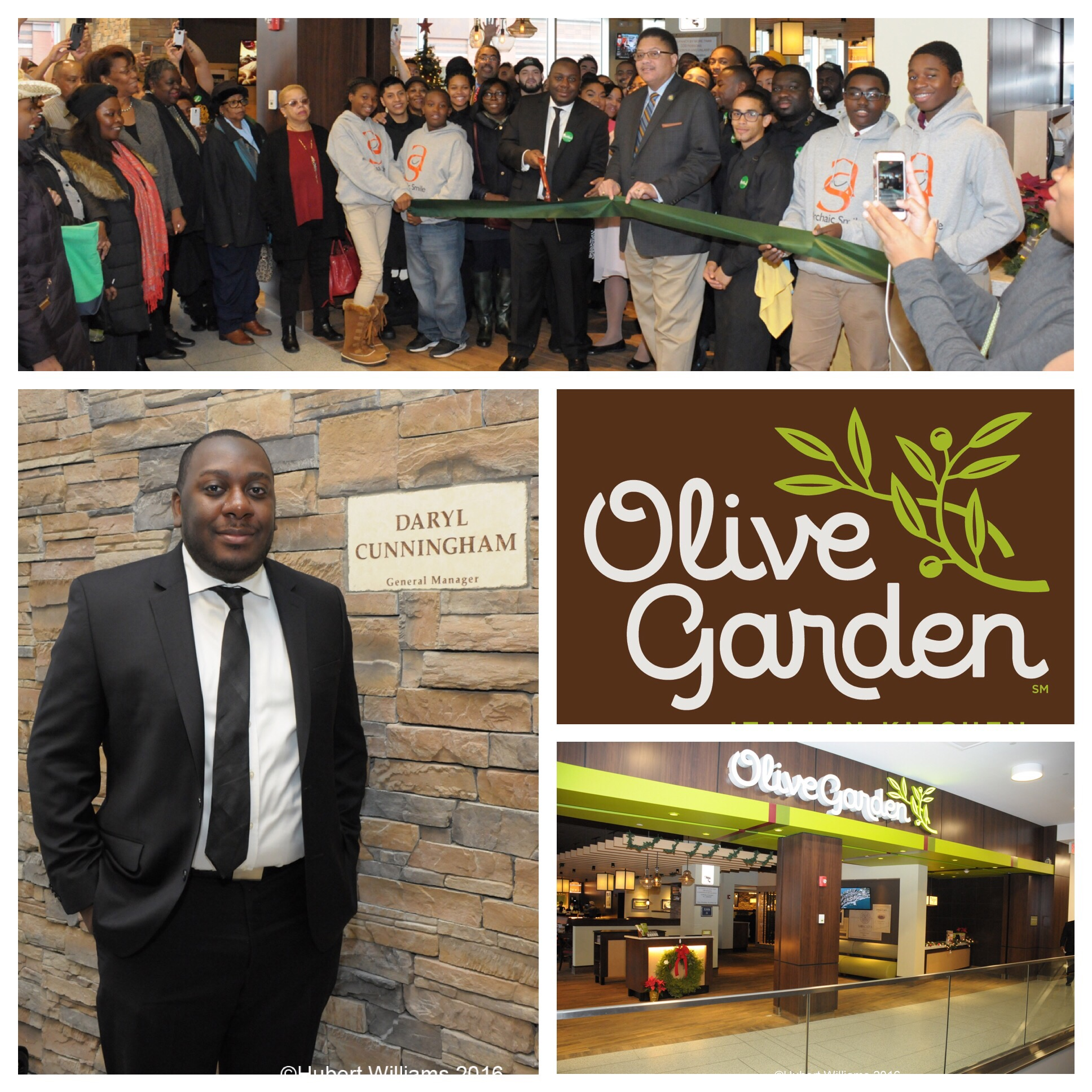 Olive Garden In Harlem Grand Opening Today | Five Little Words